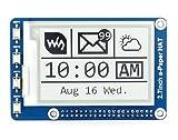 Anauto [電子ペーパーモジュール] Raspberry Piラズベリーパイ/A-rduino用 2.7インチ電子ペーパー 264x176解像度 HAT E-Inkモジュールインク表示モジュールボ