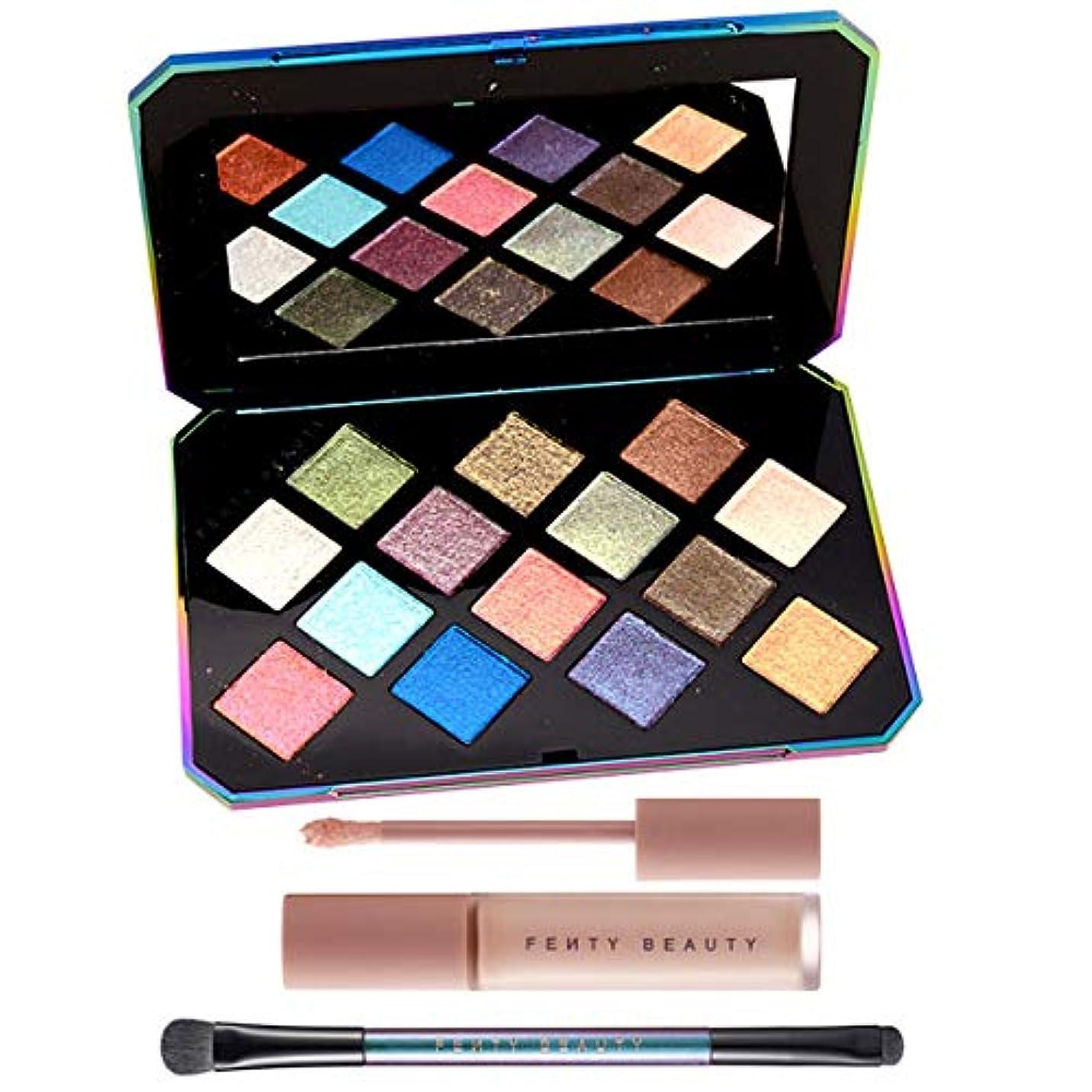 のぞき穴無声でFENTY BEAUTY BY RIHANNA, GALAXY Eyeshadow Palette & Eye Essentials [海外直送品] [並行輸入品]