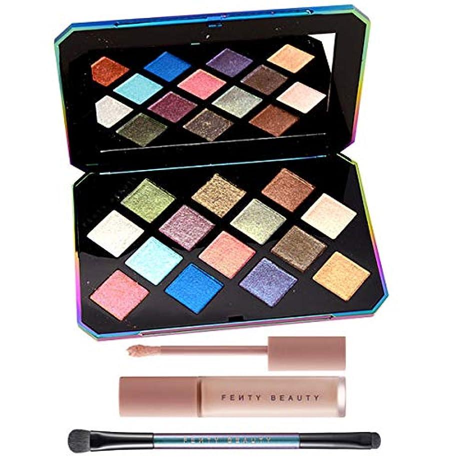 あらゆる種類の謝る構成FENTY BEAUTY BY RIHANNA, GALAXY Eyeshadow Palette & Eye Essentials [海外直送品] [並行輸入品]