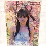 皆藤愛子 クリアファイル 3枚組 非売品 ビッグコミックスピリッツ