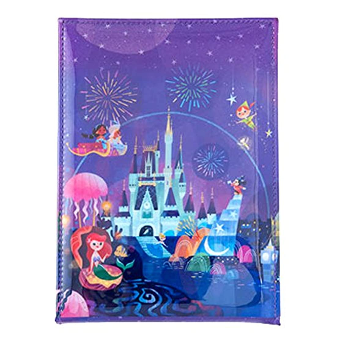乗算不明瞭固有の夜空ファンタジー風 スタンド 式 ミラー ディズニー 鏡 ミッキー アリエル 他 セレブレーションホテル デザイン リゾート 限定