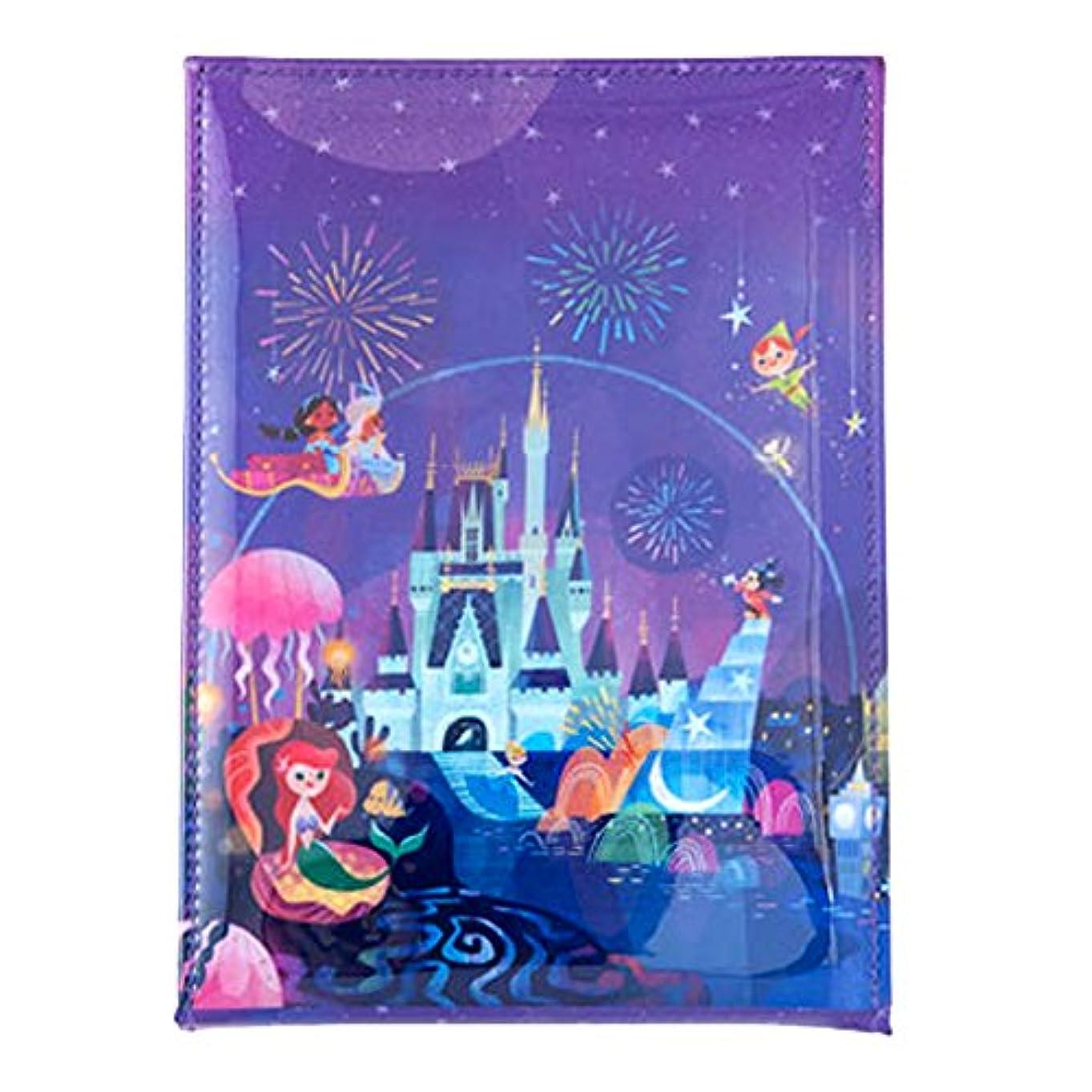 抵抗する楽なひねくれた夜空ファンタジー風 スタンド 式 ミラー ディズニー 鏡 ミッキー アリエル 他 セレブレーションホテル デザイン リゾート 限定
