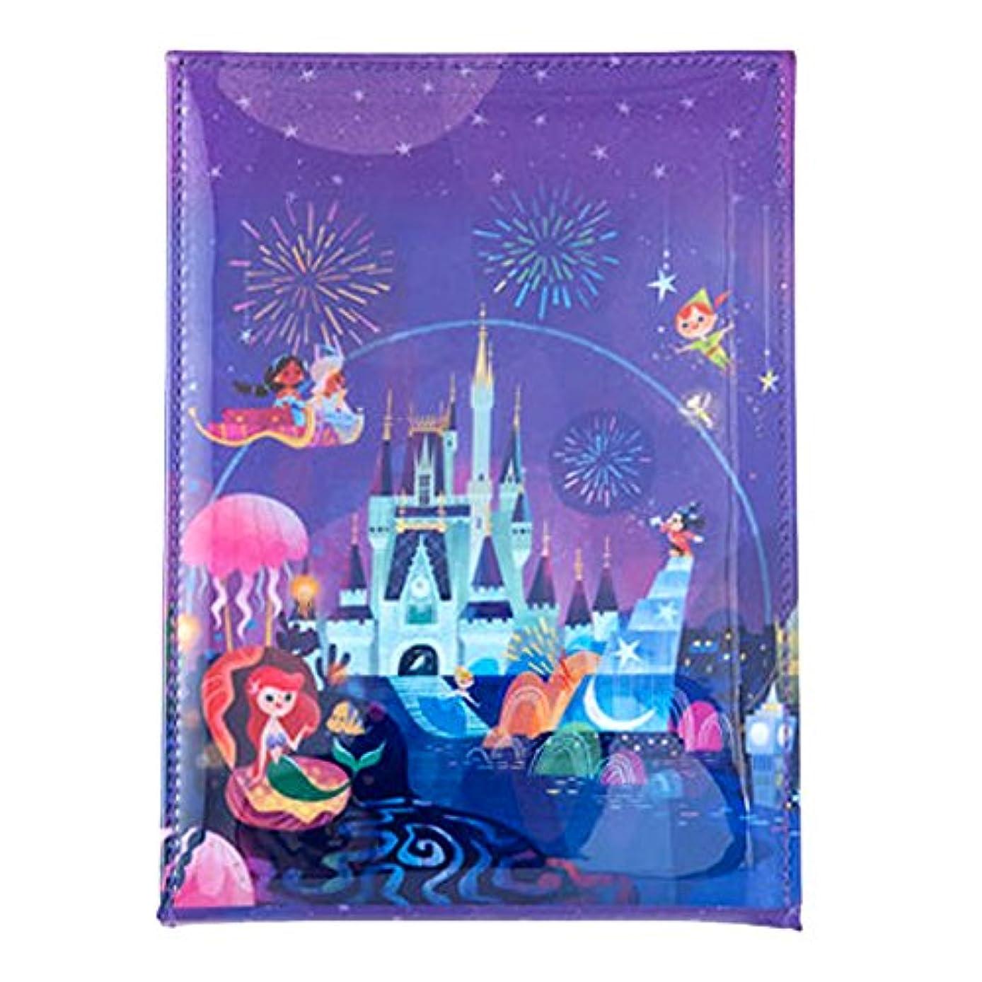 宇宙船ダーツ滞在夜空ファンタジー風 スタンド 式 ミラー ディズニー 鏡 ミッキー アリエル 他 セレブレーションホテル デザイン リゾート 限定