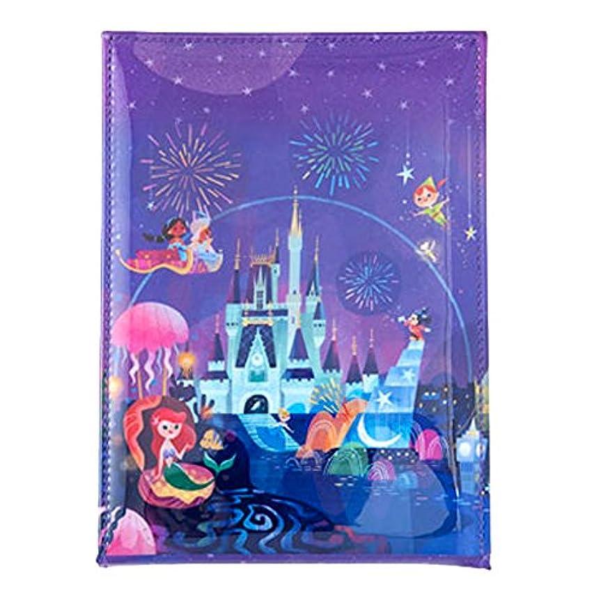 狂うフライカイトトピック夜空ファンタジー風 スタンド 式 ミラー ディズニー 鏡 ミッキー アリエル 他 セレブレーションホテル デザイン リゾート 限定