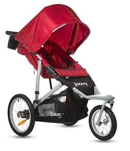 JOOVY ベビーカー Joovy Zoom 360 Swivel Wheel Jogging Stroller, Red by JOOVY [並行輸入品]