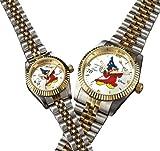ミッキーファンタジア 70周年ダイヤ腕時計(ホワイト、レディース)
