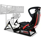 Next Level Racing レーシングシミュレーターコックピット GTultimate V2 折りたたみ可能 主要メーカーステアリングコントローラー対応 NLR-S001 【国内正規品】