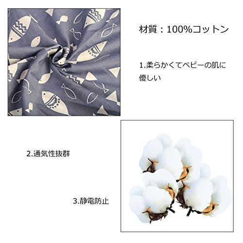 授乳ケープ LANMOK 純綿 大きめサイズ 通気性抜群 透けない ワイヤー入り スリム 360度安心 専用収納袋とポケット付き 運び便利