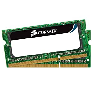 CORSAIR Memory Module DDR3 ノート VALUE SELECT Series 4GB×2kit CMSO8GX3M2A1333C9