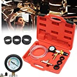 Generic ool Gauge Kitling System P Cooling System Auto Car Radiator Purging Refill Coolant Vacuum Tool Gauge Kit Auto Car Radiator