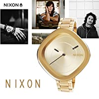 NIXON ニクソン a166502 THE ZONA ALL GOLD LADIES ニクソン ゾナ 腕時計 [並行輸入品]