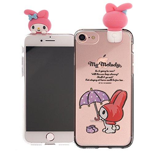 472cdeb305 iPhone 8 Plus ケース iPhone 7 Plus ケース Sanrio サンリオ かわいい ソフト TPU クリア カバー/