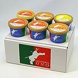 ジェラート専門店ジェラテリアUNO 愛媛産高級柑橘ジェラート アイスクリーム 6個Aセット のし メッセージカード対応