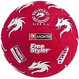 Monta Freestylers SHINJI フリースタイル専用ボール レッド/ホワイト