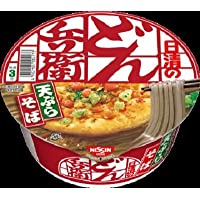 日清のどん兵衛 天ぷらそば [西]  1箱:12食入り