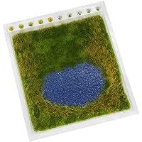 Noch – 07442 – MODELISME FERROVIAIRE – Natur + Etang de baignade – 22 x 20 cm