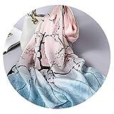 春のシルクのギフトシルクスカーフサテン手作りのシルクの養蚕業のシルクスカーフロングスカーフ女性