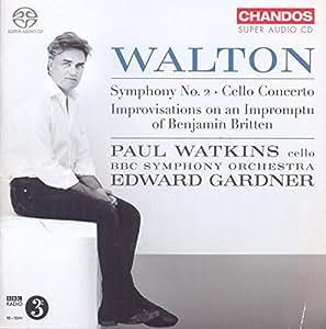 Walton: Symphony No 2/Cello Co