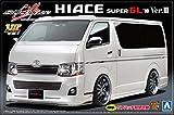 青島文化教材社 1/24 VIPアメリカンシリーズ No.3 シルクブレイズ トヨタ 200系 ハイエース 2010 Ver.III プラモデル