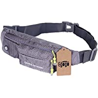 EGOGO Slim Soft Water Resistant Fanny Pack Waist Bag Pack Belt Bag Bum Bag Sling Pack Chest Bag for Man Women Outdoors Running Cycling Climbing Carrying iPhone 5 6 Plus Samsung S5 S6 T116