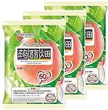 マンナンライフ 蒟蒻畑白桃味 25g×12個×3袋