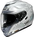 ショウエイ(SHOEI) バイクヘルメット フルフェイス GT-AIR GRANDEUR【グランジャー】TC-6 (WHITE/SILVER) XXL (63cm)