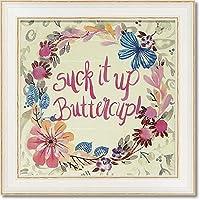 ユーパワー ヒーリングアートシリーズ エスター ブレイ デザインズ 「サック イット アップ バターカップ」 EB-06501