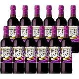 【国産ワイン売上NO.1】サントリー 酸化防止剤無添加のおいしいワイン。 濃い赤 (ペットボトル) [ 720mlx12本 ]