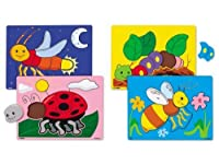 Bugs Puzzle Set by Lakeshore Learning Materials [並行輸入品]