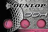 Dunlop DDH距離ゴルフボール(12パック)、スモール、ピンク