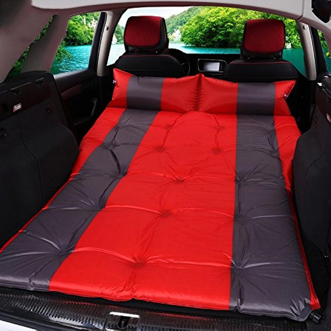 副産物カウントアップ爆風GYP インフレータブルベッドSuvの車のベッド、旅行ベッドの寝台のマット屋外の車のマットキャンプの吸湿性のパッドポータブル折り畳み式旅行車の供給190 * 126センチメートル ( 色 : #3 )