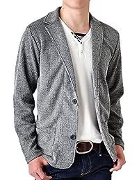 (アローナ) ARONA テーラードジャケット メンズ ジャケット ストレッチ シャドーストライプ/YC