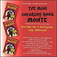 Mini Coloring Book Monte by Magic Apple - Trick by Apple Magic [並行輸入品]
