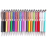 20Pcs 2 in 1 Crystal Stylus and Ink Pen for Kindle Touch iPad 2, Iphone 4,4S and More by MOMODA [並行輸入品]
