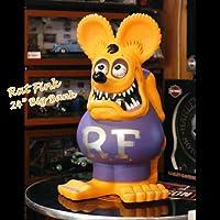 【RAT FINK】 FUNKO社製 ラットフィンク 24インチ ビッグバンク(オレンジ) 貯金箱