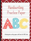 Handwriting Practice Paper Workbook Primary Composition Notebook: Journal Blank Dotted Writing Sheets Notebook For Preschool And Kindergarten Kids Christmas  (tracing Practice Book For Preschoolers)  (ages 2-4, 3-5)Vol.92
