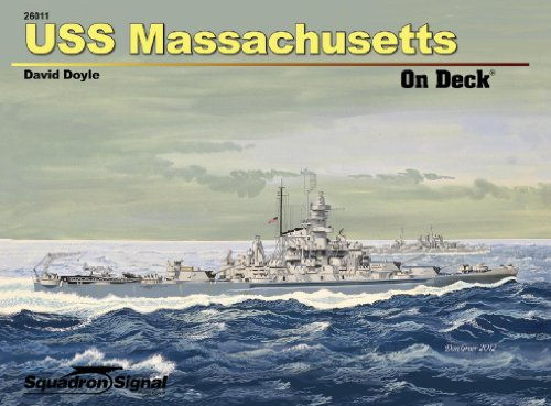 Uss Massachusetts on Deck