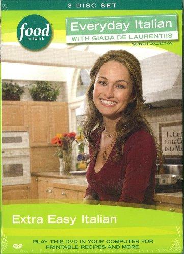 Everyday Italian with Giada De Laurentiis Extra Easy Italian (DVD) 3 disc