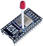 超簡単! 無線マイコンモジュール TWELITE DIP-トワイライトディップシリーズ マッチ棒アンテナ ピンヘッダ端子実装
