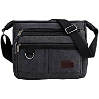 6d5bfe597c8a Multifunctional Canvas Messenger Bag
