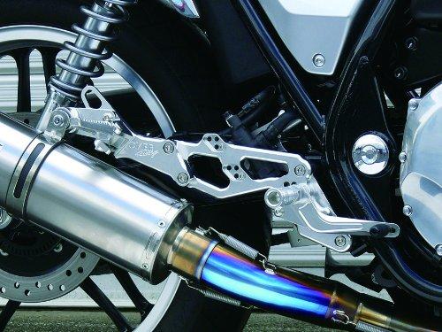 オーヴァーレーシング(OVER RACING) バックステップ 4POSITION シルバー CB1100(10-) 排気量751cc~~ ホンダ[HONDA] 51-18-01~