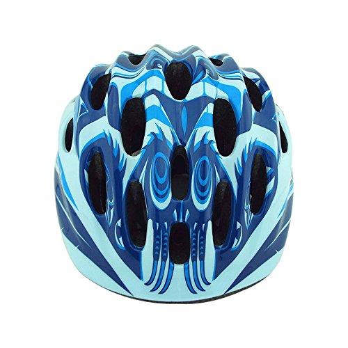 (KINGKA SPORTS) キンカスポーツ X-ONE ヘルメット 子供用 自転車 インラインスケート (青)