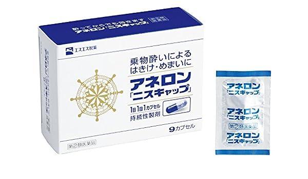 【指定第2類医薬品】アネロン「ニスキャップ」 9カプセル site cover image