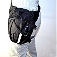 Canvas Bag Hip Bum Waist Thigh Drop Leg Bag Travel Hiking Motorcycle Riding New