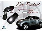 ブラックLeatheretteアームレストfor Nissan Juke ( no cutting , No Drilling )