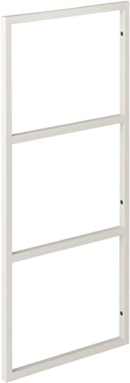 ウッドワン 棚柱用カナモノ カベツケ ホワイト [高さ638mm] MKATK06-1-W