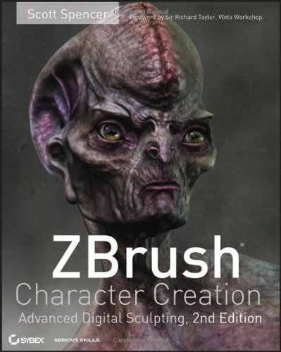 Download ZBrush Character Creation: Advanced Digital Sculpting 0470572574