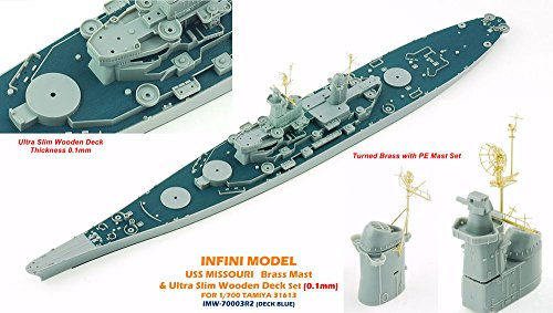 1/700 米 戦艦 ミズーリ用デッキブルー色  タミヤ用