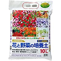 自然応用科学 花と野菜の培養土(取っ手付き) 10L