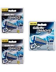 Gillette MACH3 Turbo SHAVING RAZOR カートリッジブレード 20 Pack [並行輸入品]